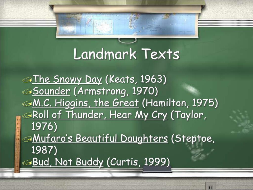 Landmark Texts