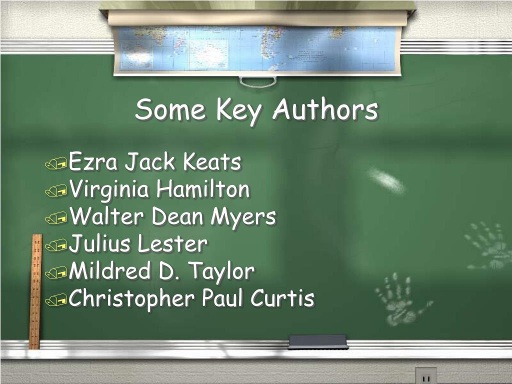 Some Key Authors