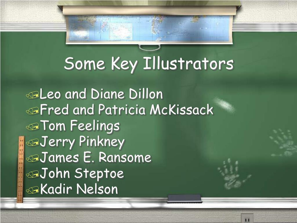 Some Key Illustrators