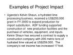 examples of project impact25