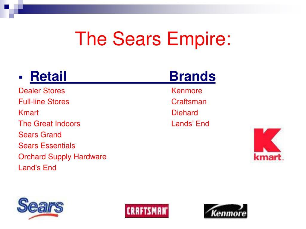The Sears Empire: