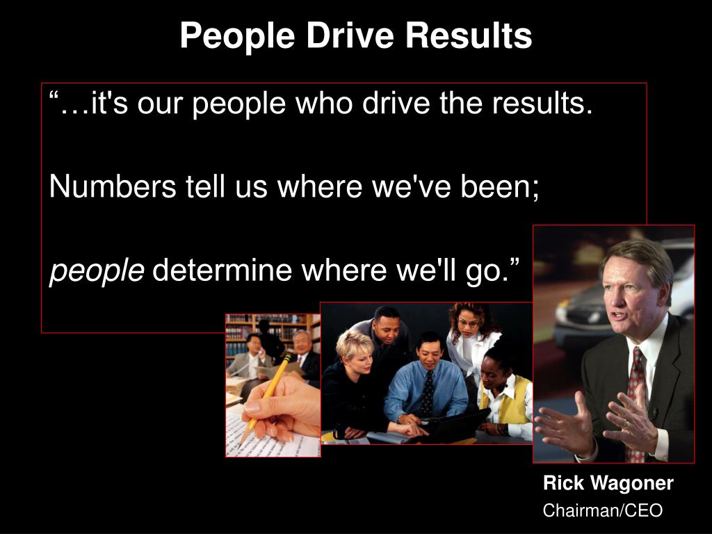 People Drive Results