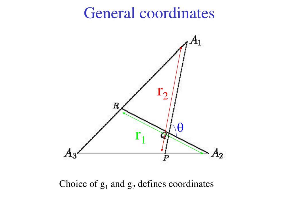 General coordinates