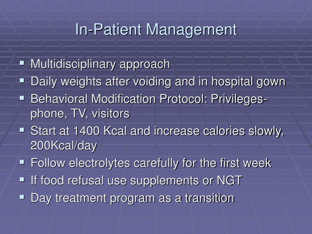 In-Patient Management