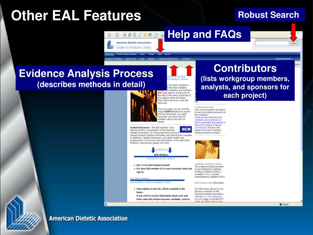Other EAL Features
