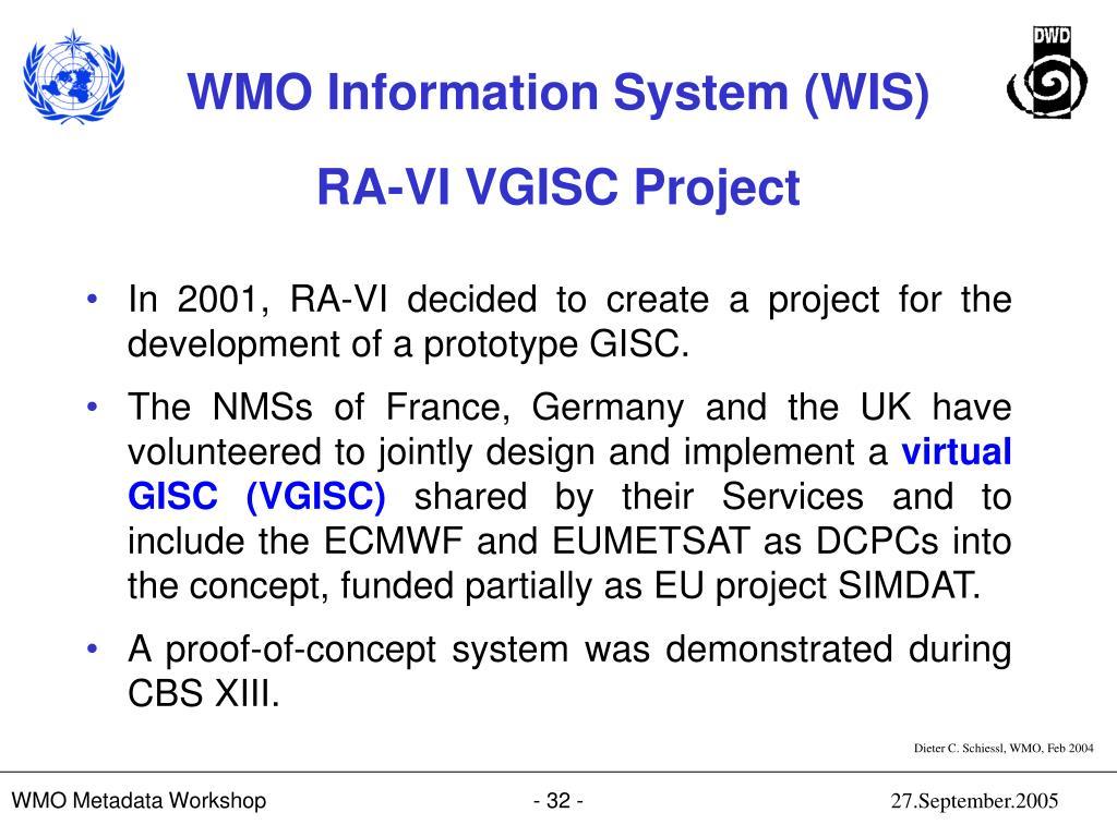 RA-VI VGISC Project