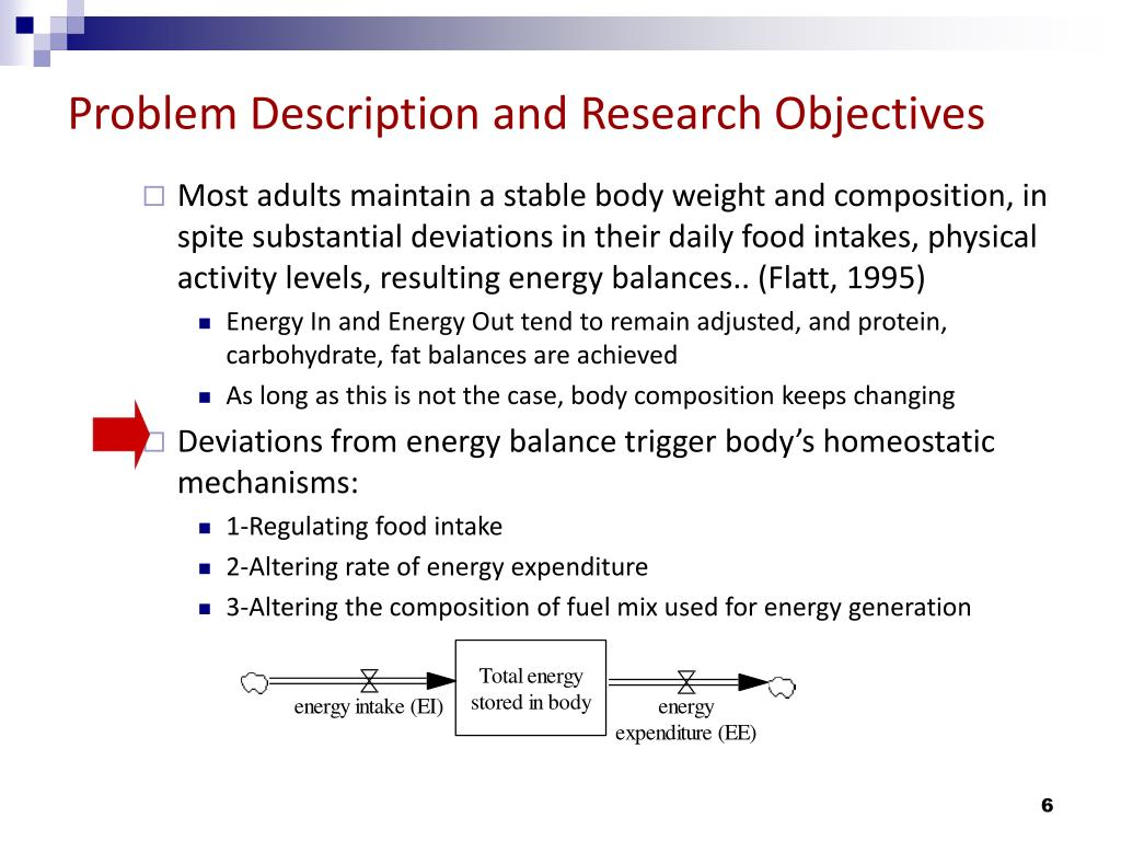 Problem Description and Research Objectives