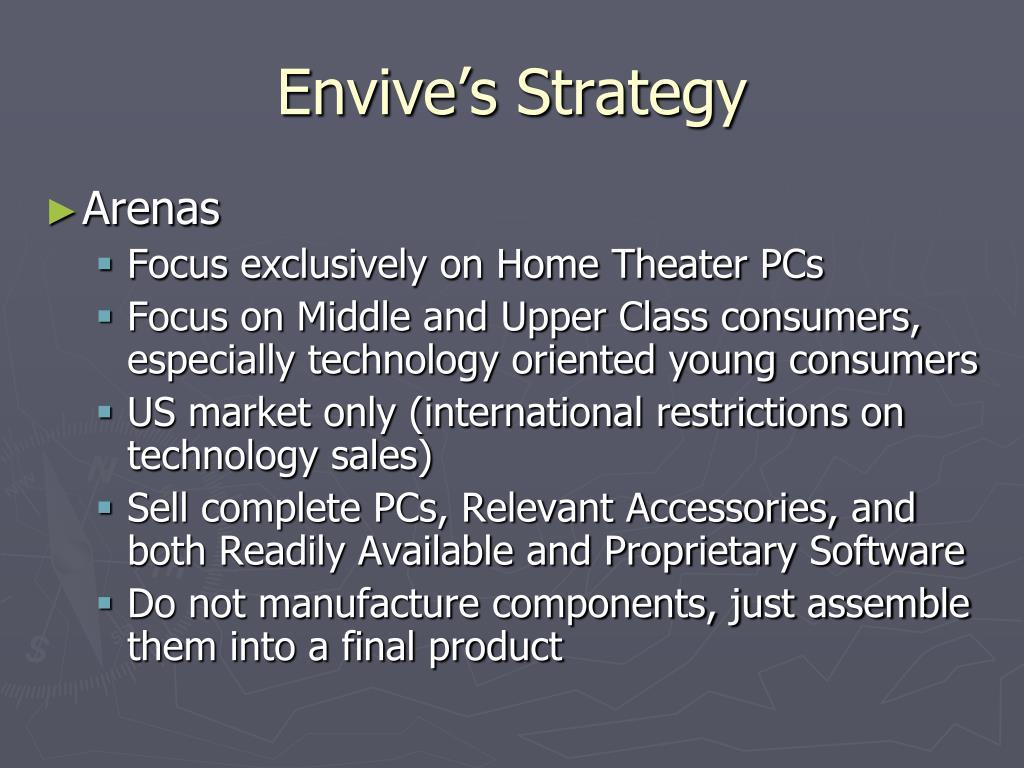 Envive's Strategy