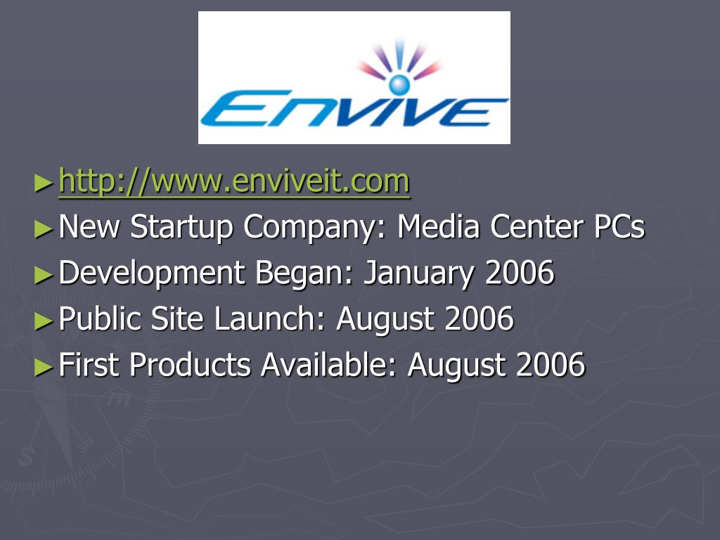 http://www.enviveit.com