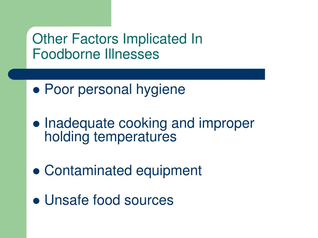Other Factors Implicated In