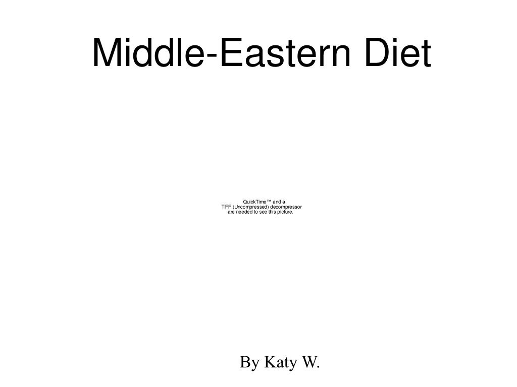 Middle-Eastern Diet