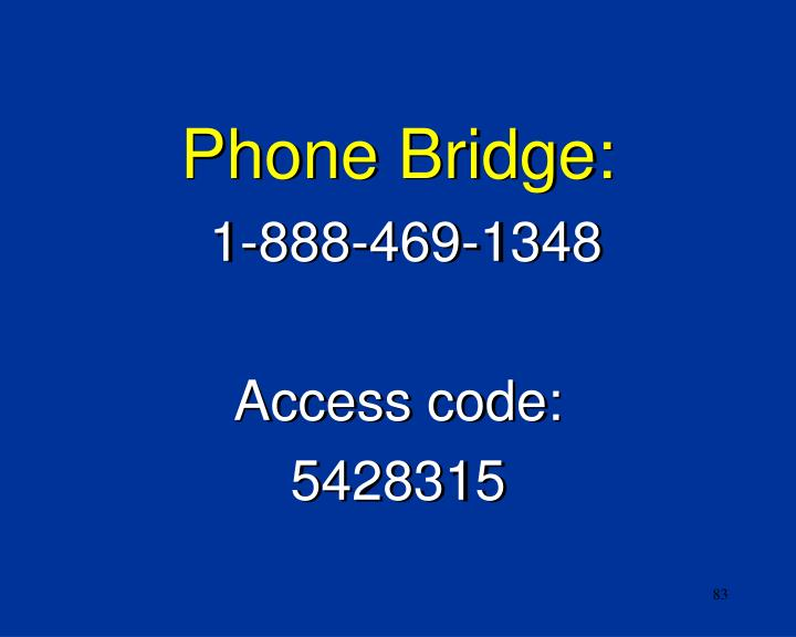 Phone Bridge: