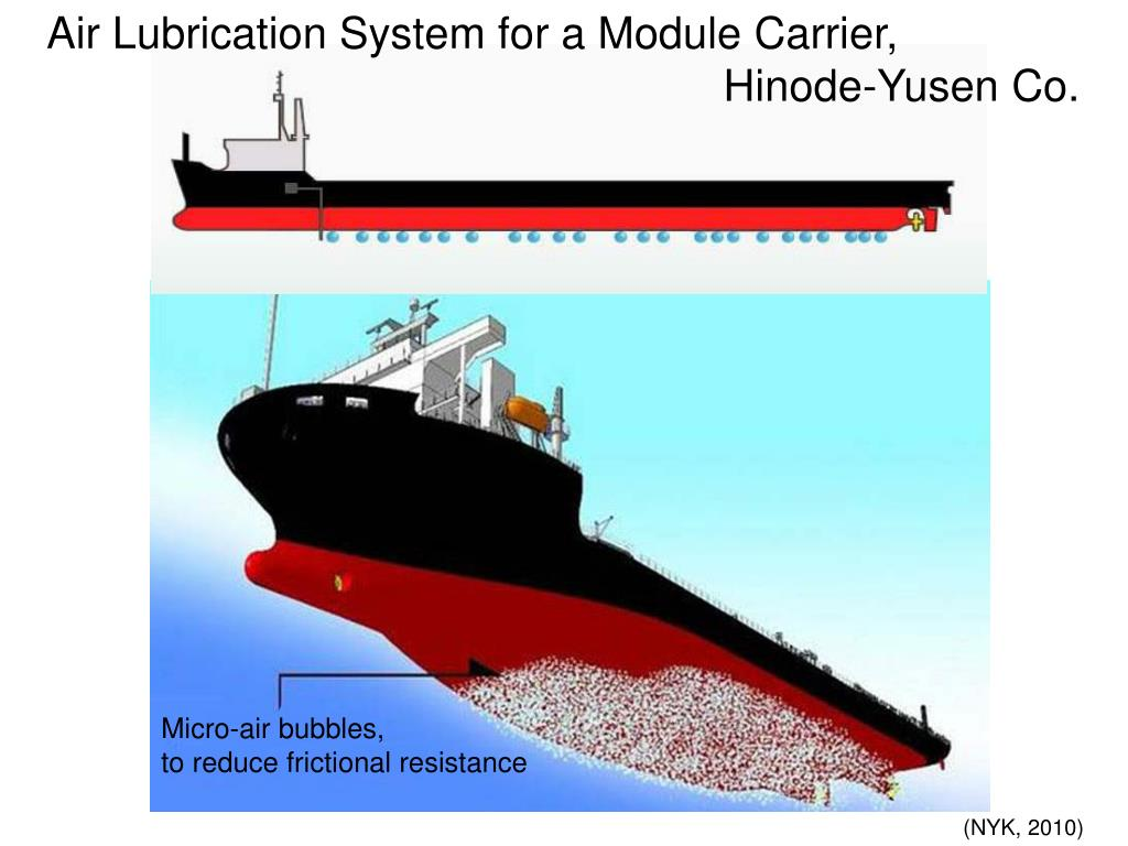 Air Lubrication System for a Module Carrier,