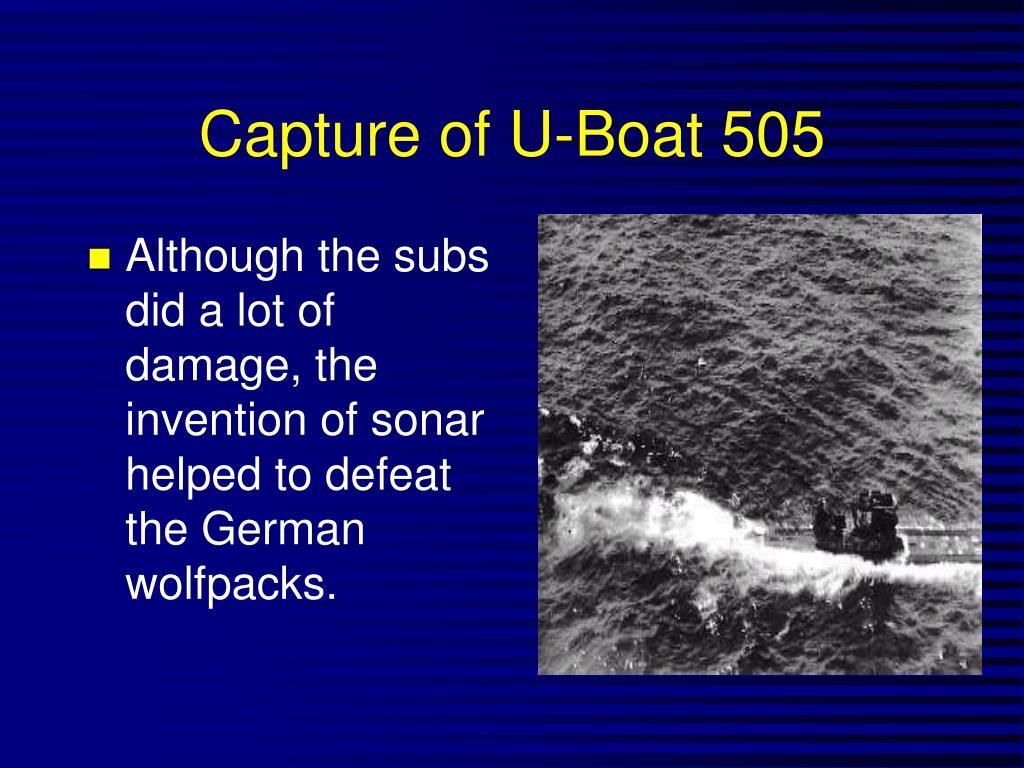 Capture of U-Boat 505