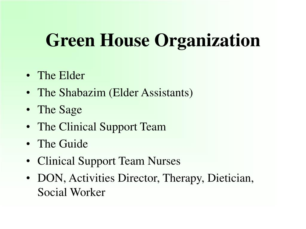 Green House Organization