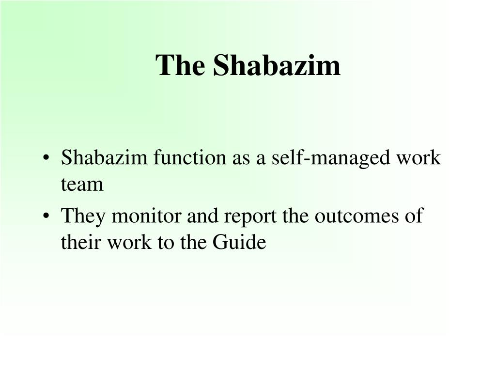 The Shabazim