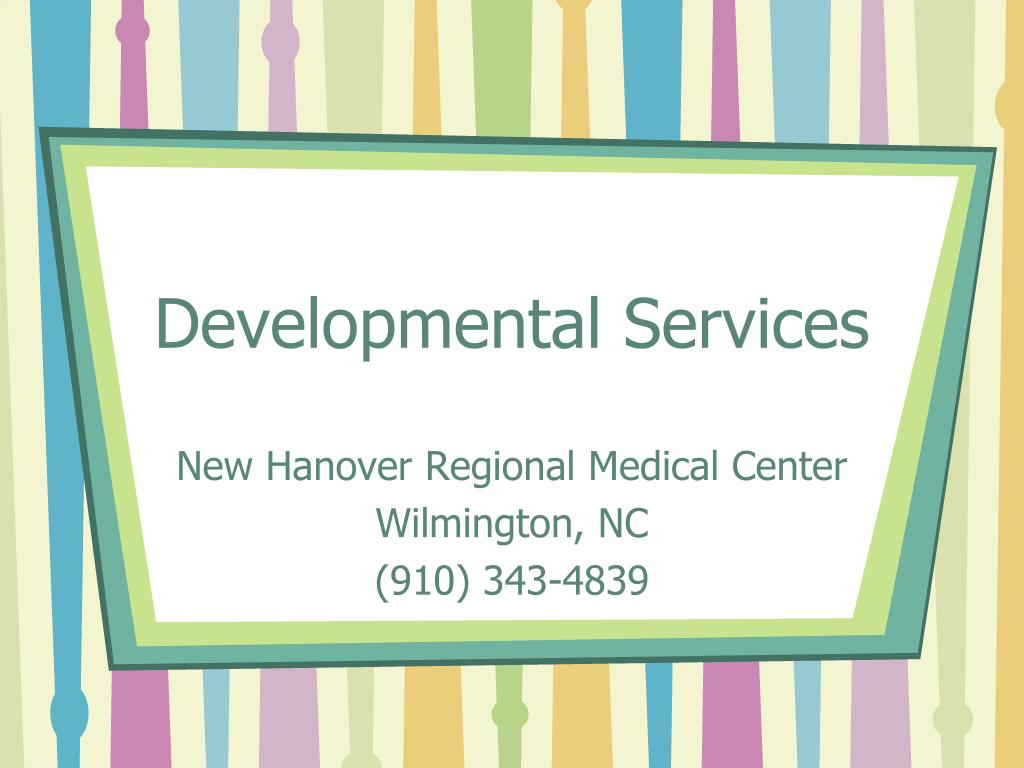 Developmental Services