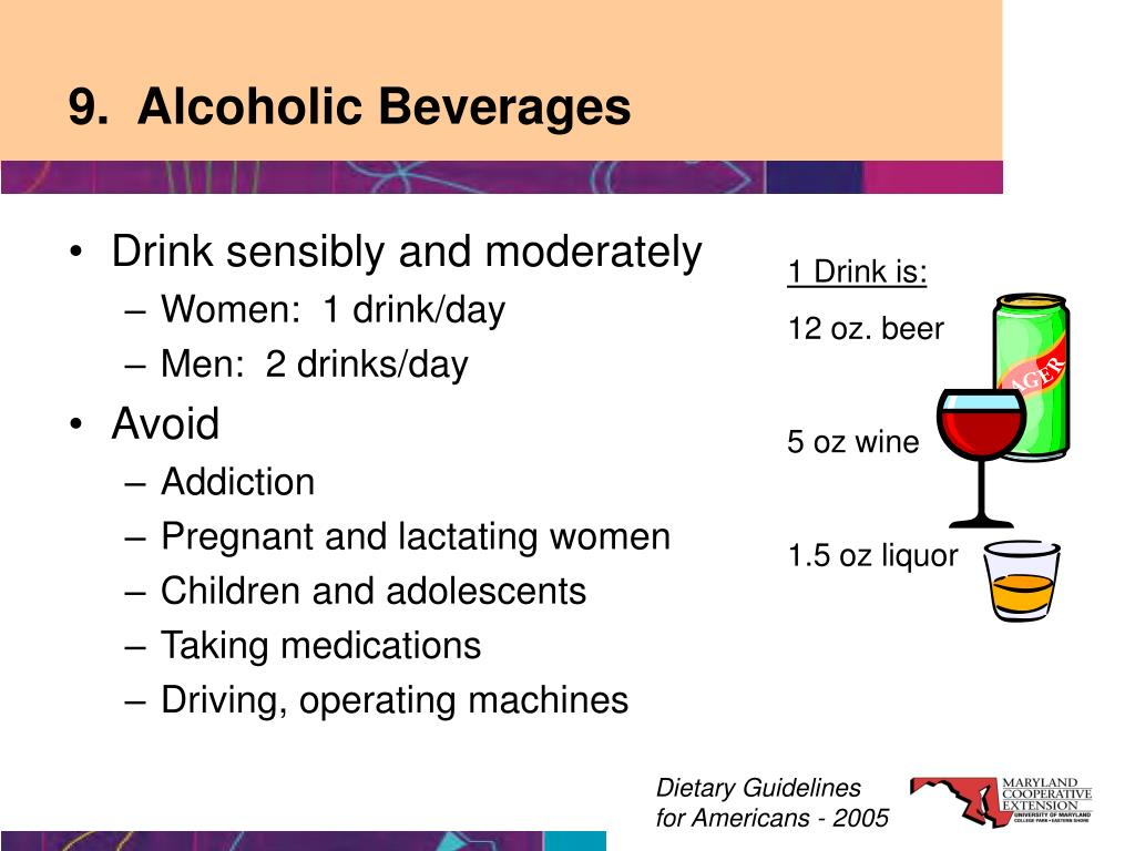 9.  Alcoholic Beverages
