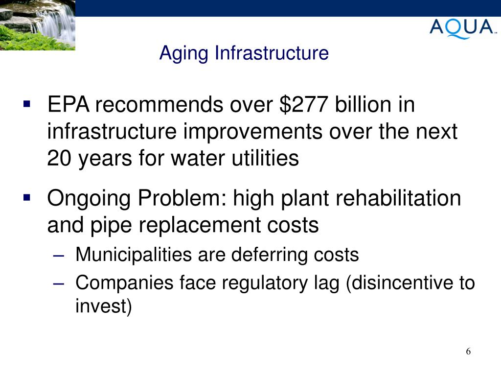 Aging Infrastructure