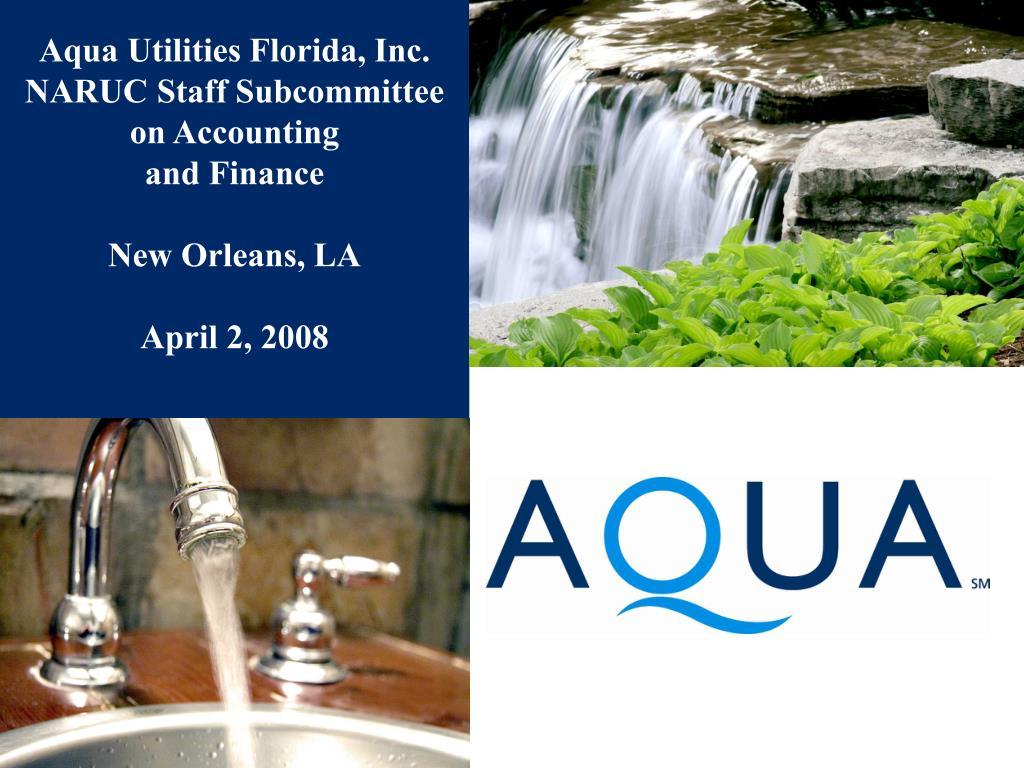Aqua Utilities Florida, Inc.