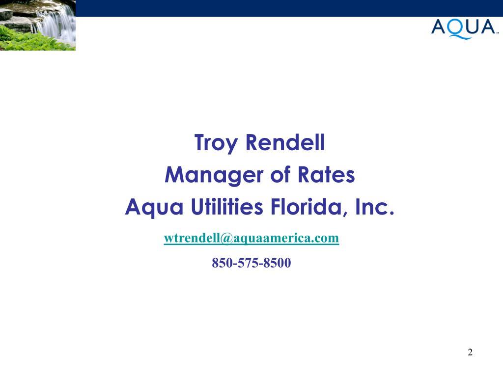 Troy Rendell