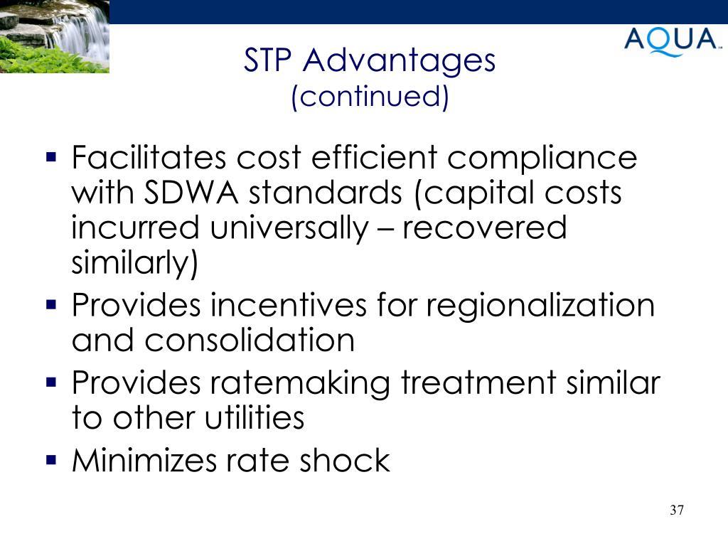 STP Advantages