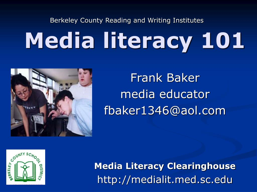Berkeley County Reading and Writing Institutes