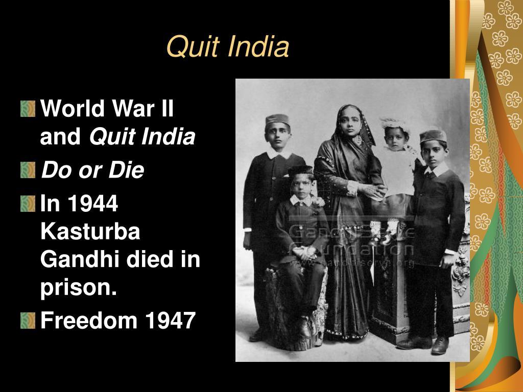 Quit India