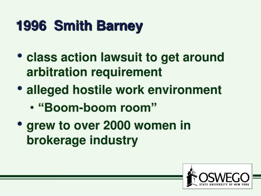1996  Smith Barney