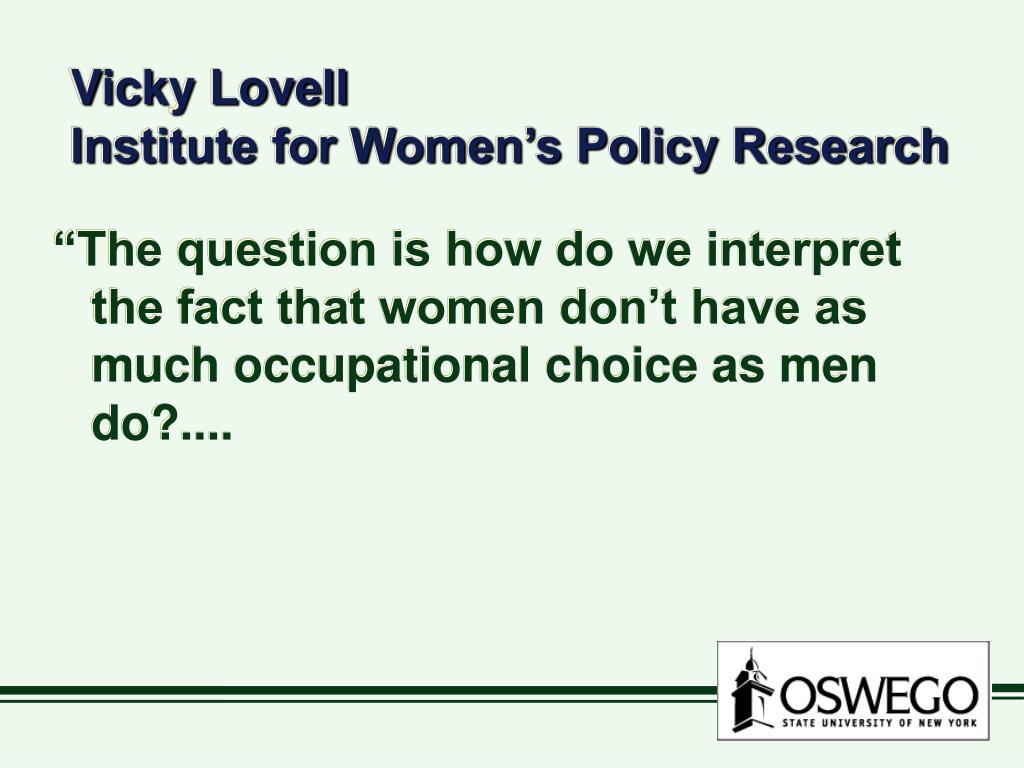 Vicky Lovell