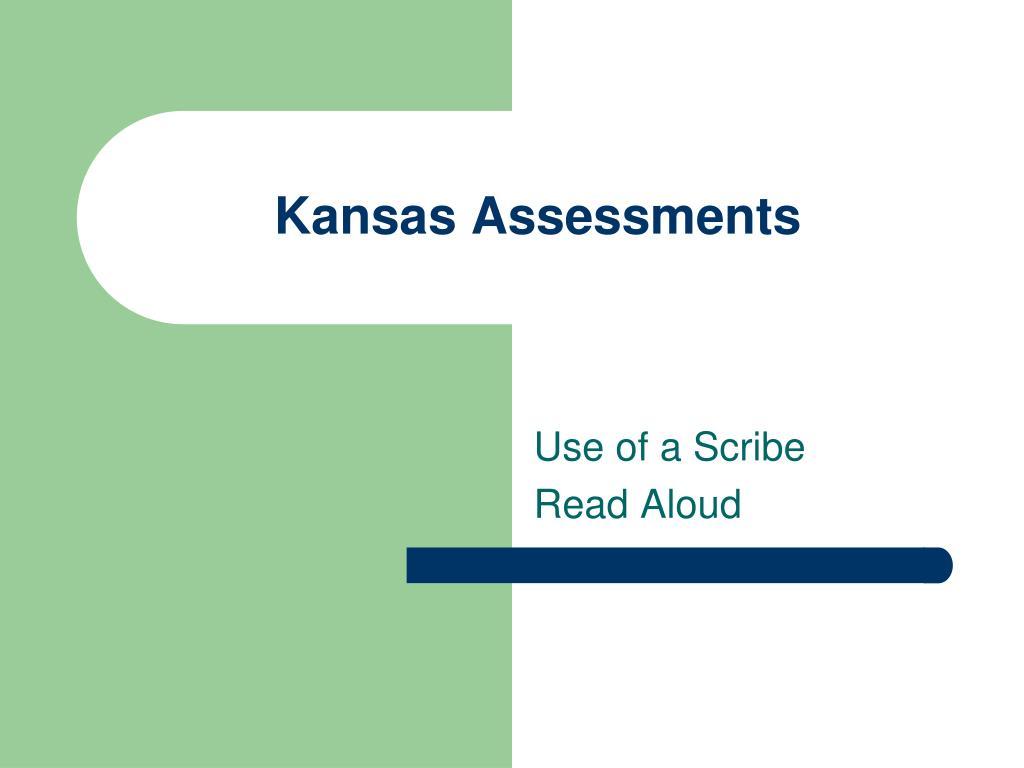 Kansas Assessments