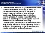 differentiated instruction from wikipedia the free encyclopedia