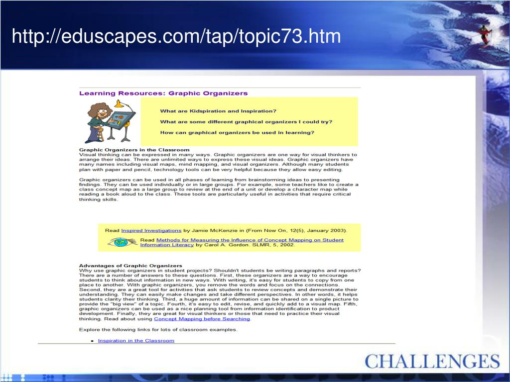 http://eduscapes.com/tap/topic73.htm