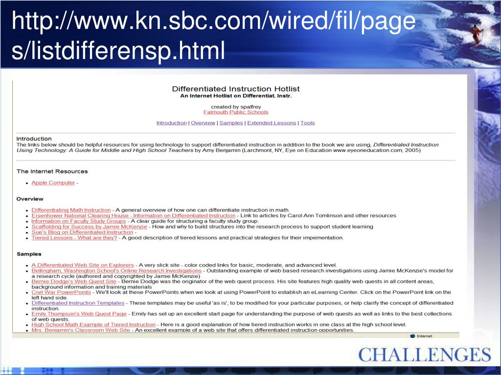 http://www.kn.sbc.com/wired/fil/pages/listdifferensp.html