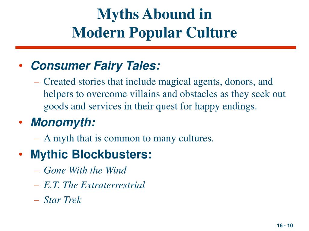 Myths Abound in