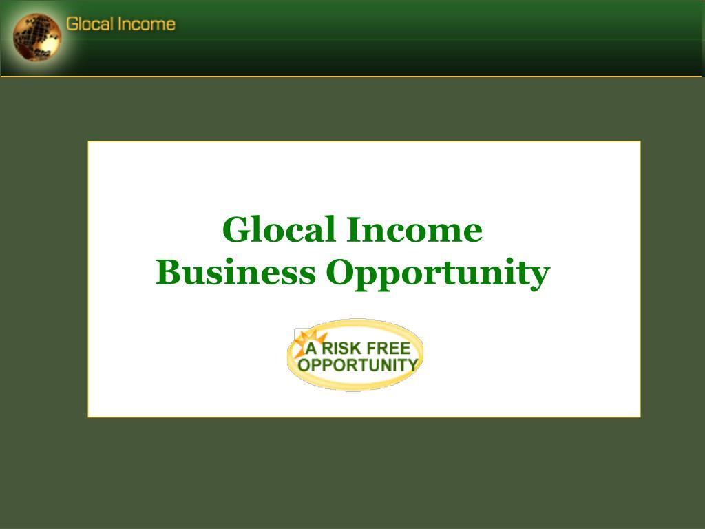 Glocal Income