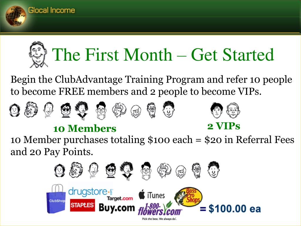 The First Month – Get Started