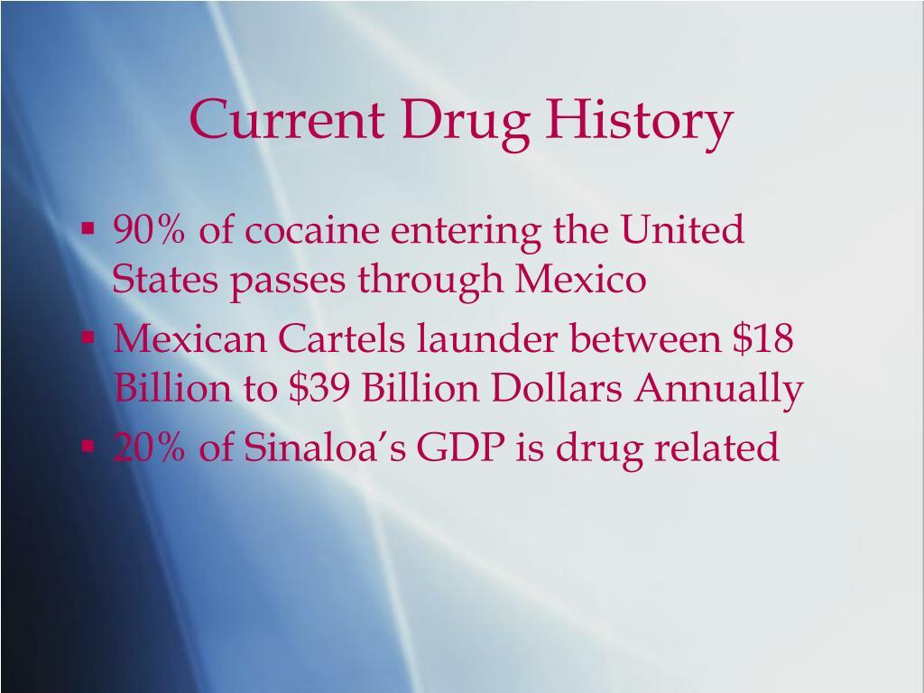 Current Drug History
