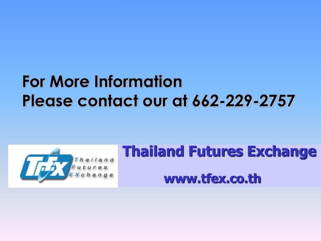 Thailand Futures Exchange