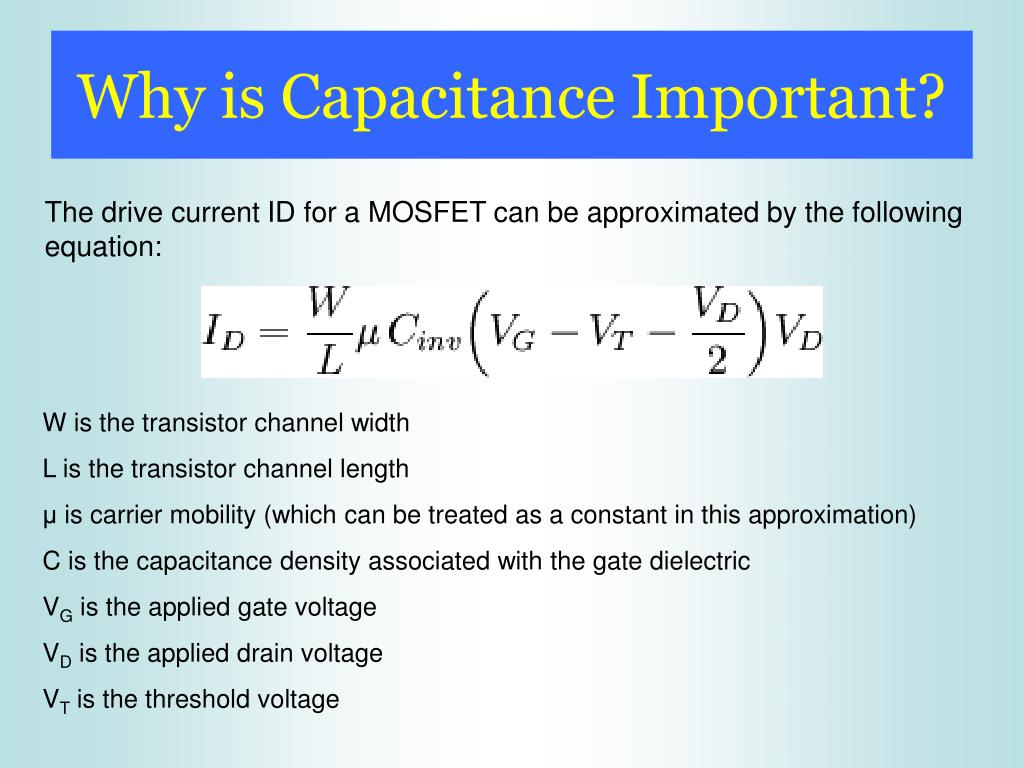 Why is Capacitance Important?
