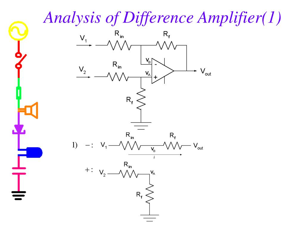 Analysis of Difference Amplifier(1)