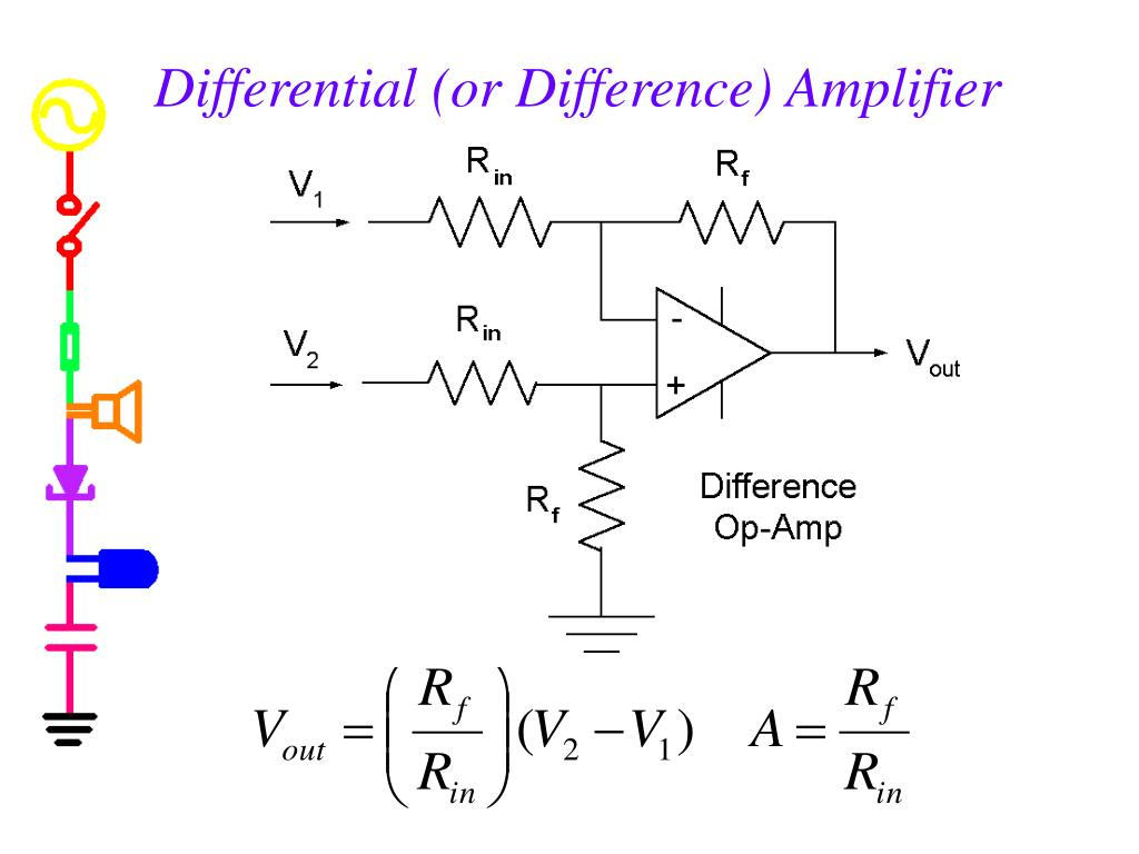 Differential (or Difference) Amplifier
