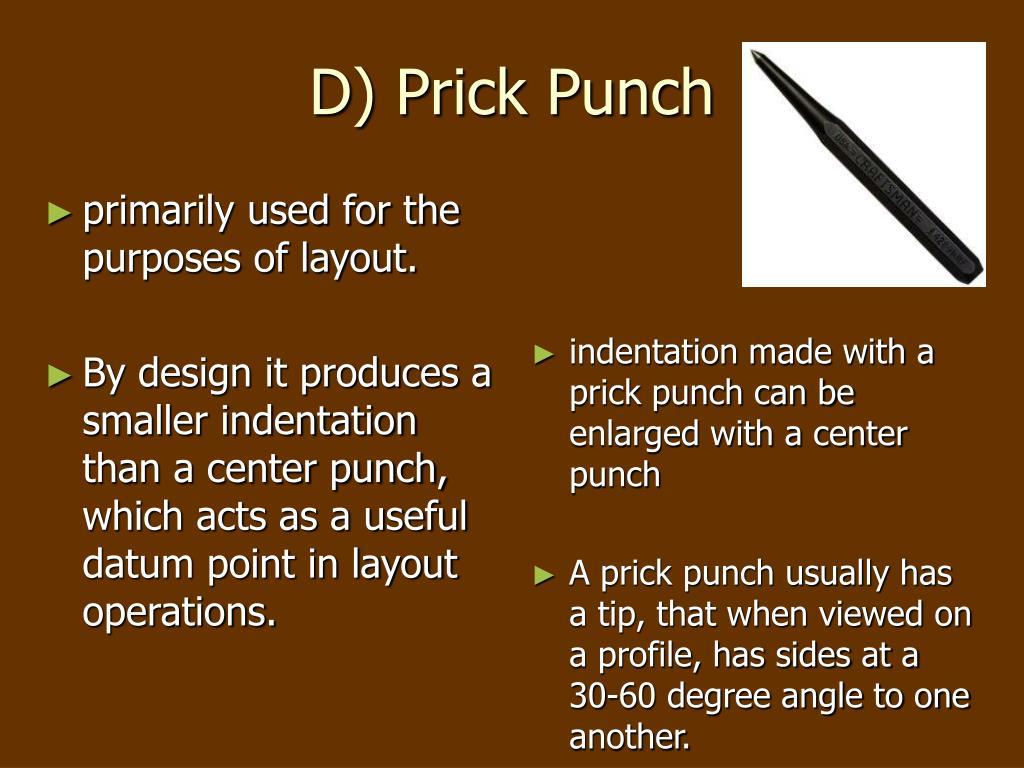 D) Prick Punch