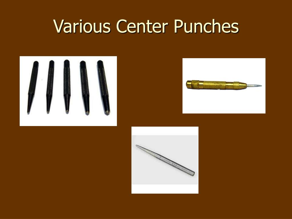 Various Center Punches