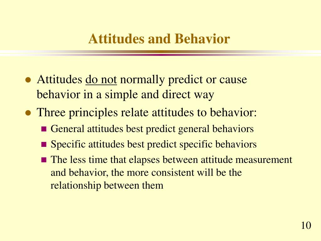 understanding behaviours and attitudes towards social Understanding and predicting human behaviour much consumer and social research attitudes are assumed to related to the attitude to behaviour towards that.