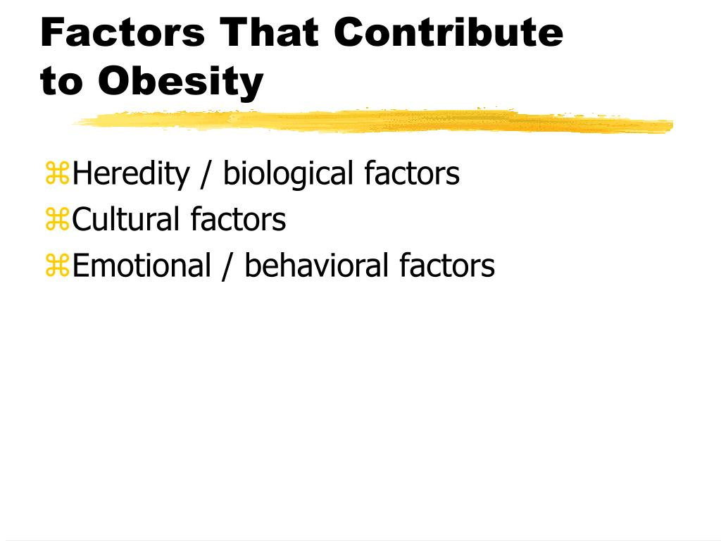 Factors That Contribute