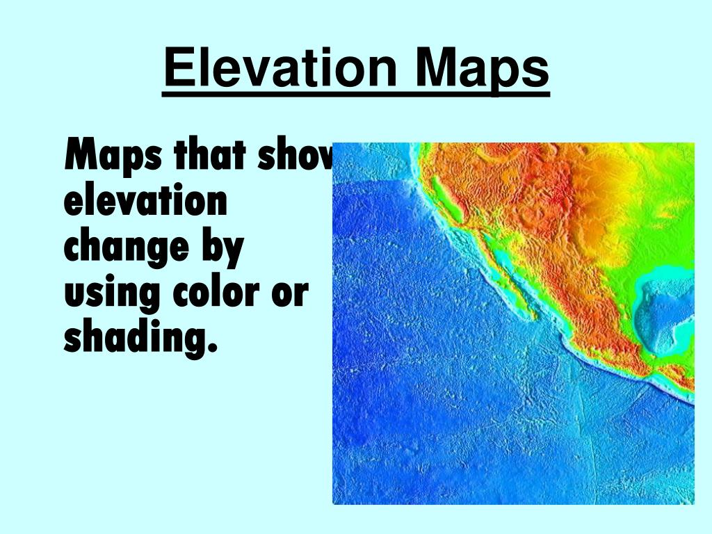 Elevation Maps