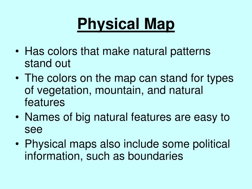 Physical Map