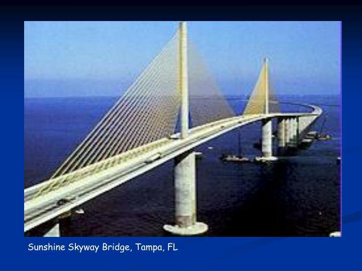 Sunshine Skyway Bridge, Tampa, FL