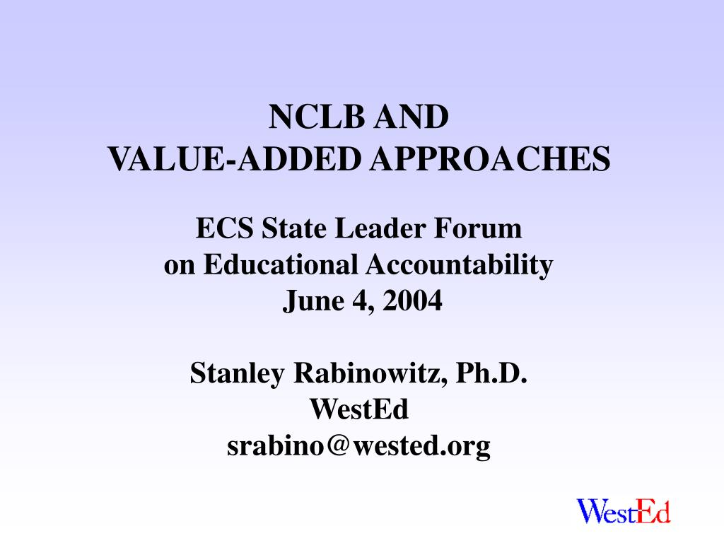 NCLB AND